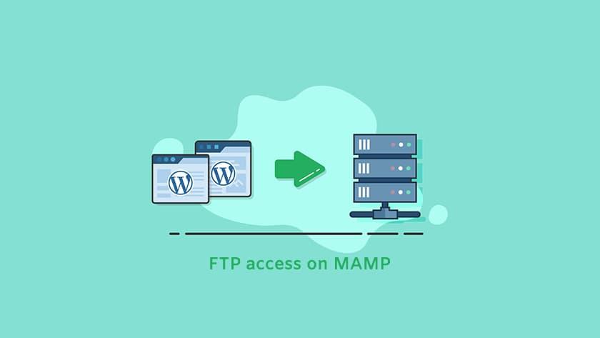 WordPress FTP access on MAMP
